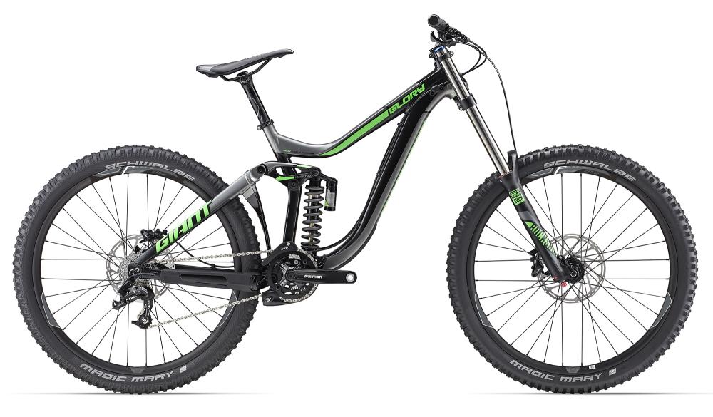GIANT Glory 2 S Black/Green S - Bergmann Bike & Outdoor
