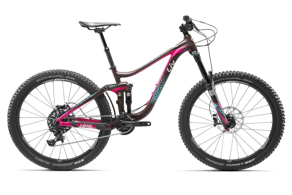 LIV Hail 1 Dark Berry/Berry/Green XS - Bergmann Bike & Outdoor
