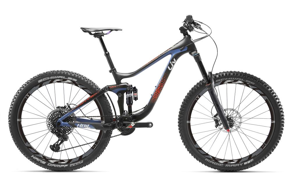 LIV Hail Advanced 0 Carbon/Blue/Red XS - Bergmann Bike & Outdoor