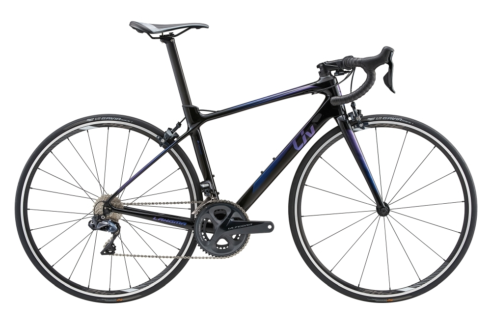 LIV Langma Advanced 0 L Black L - Fahrradhaus Haske