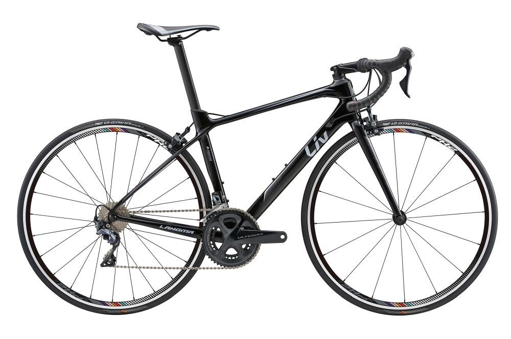 LIV Langma Advanced 1 L Black L - Fahrradhaus Haske