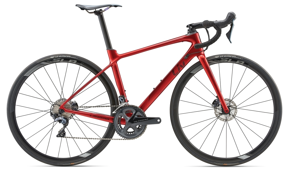LIV Langma Advanced Pro 1 Disc XS Red XS - Bike Maniac