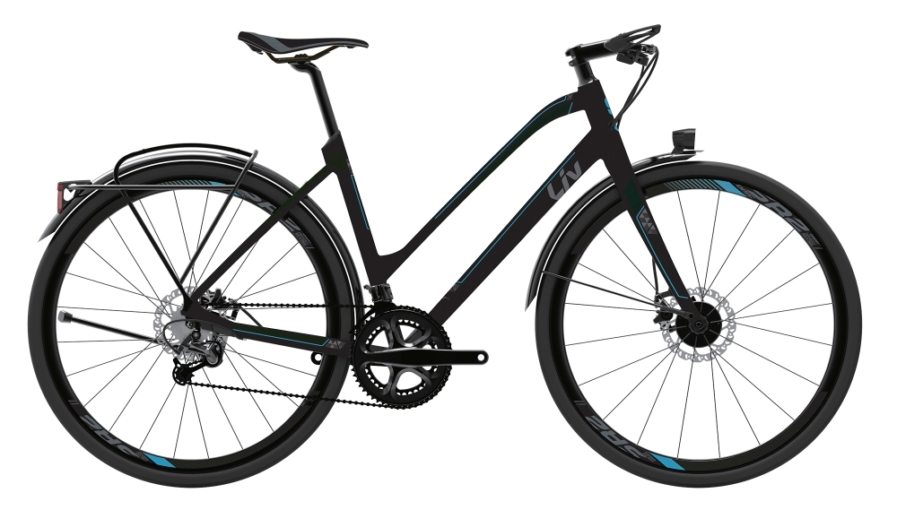 LIV Lissom CS 1 L Black L - Fahrradhaus Haske