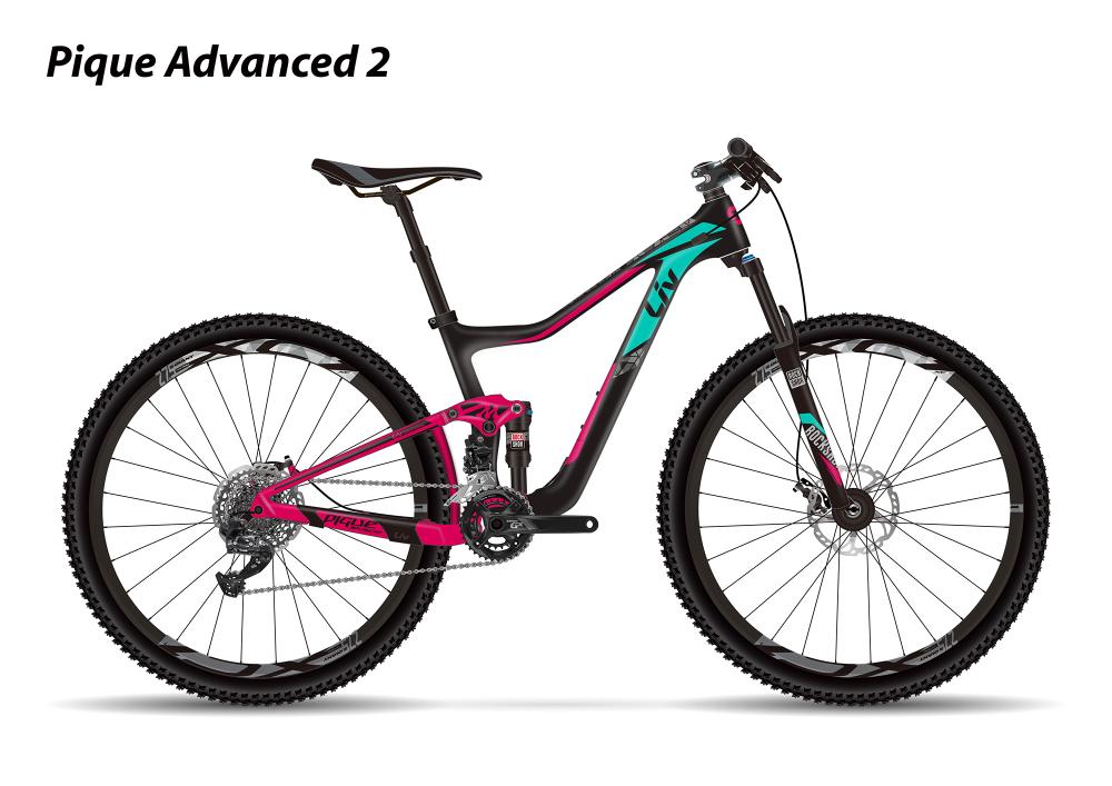 LIV Pique Advanced 2 Carbon/Berry XS - Bergmann Bike & Outdoor