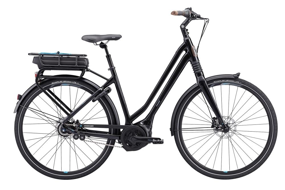 GIANT Prime E+1 LDS 25km/h S Gloss Black S - Bike Maniac
