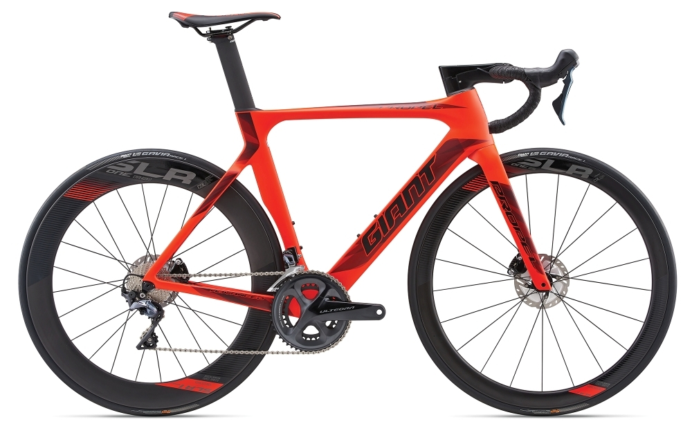 GIANT Propel Advanced Disc S Neon Red S - Bergmann Bike & Outdoor