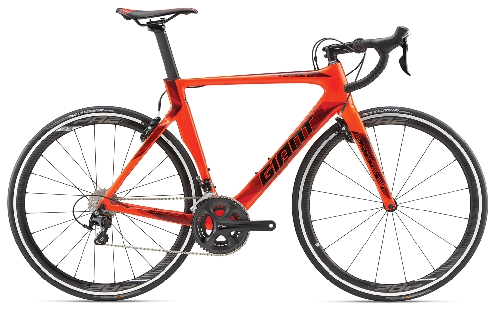 GIANT Propel Advanced 2 L Neon Red L - Fahrradhaus Haske