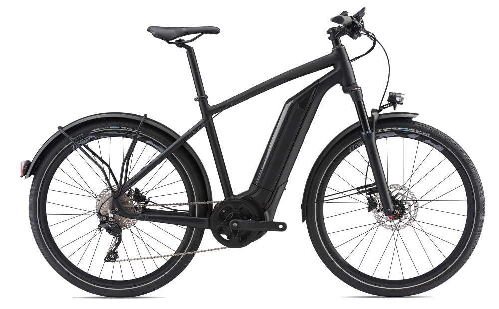 GIANT Quick-E+ FS 45km/h S Matte Black S - Bike Maniac