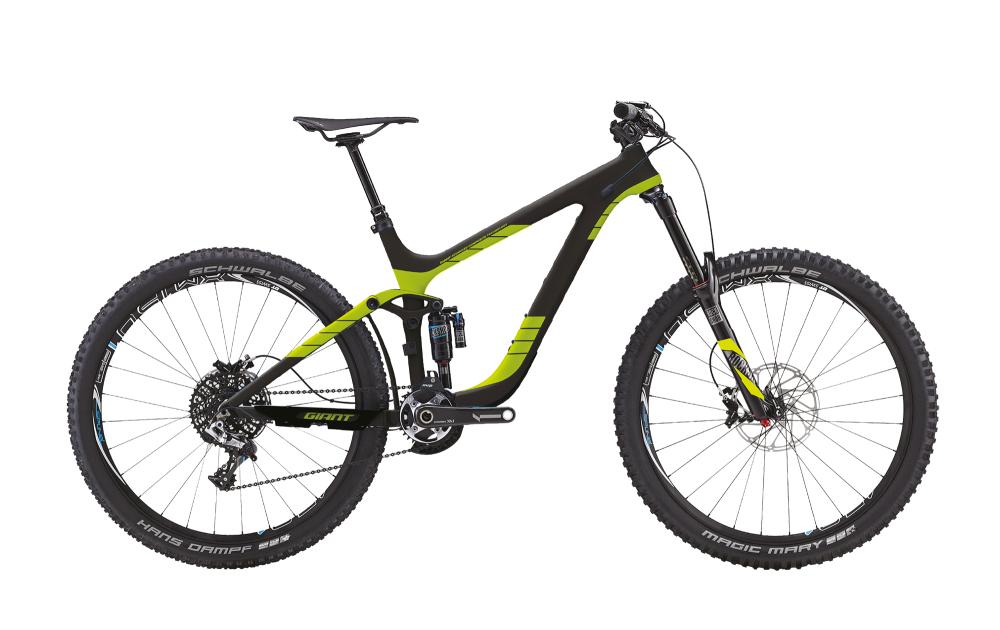 GIANT Reign 2 LTD Black/Green S - Bergmann Bike & Outdoor