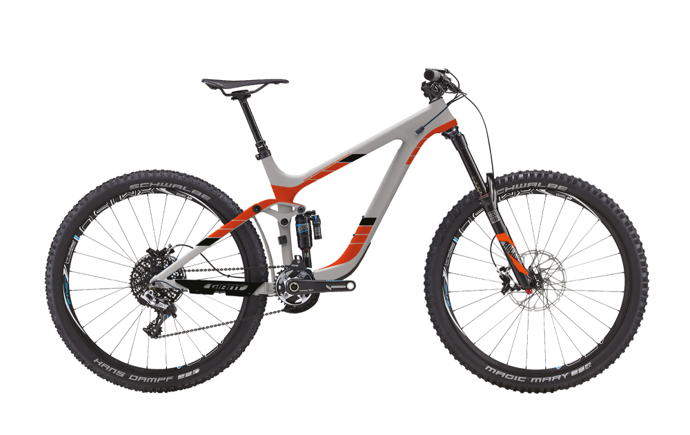 GIANT Reign 2 LTD Gray/Orange S - Bergmann Bike & Outdoor