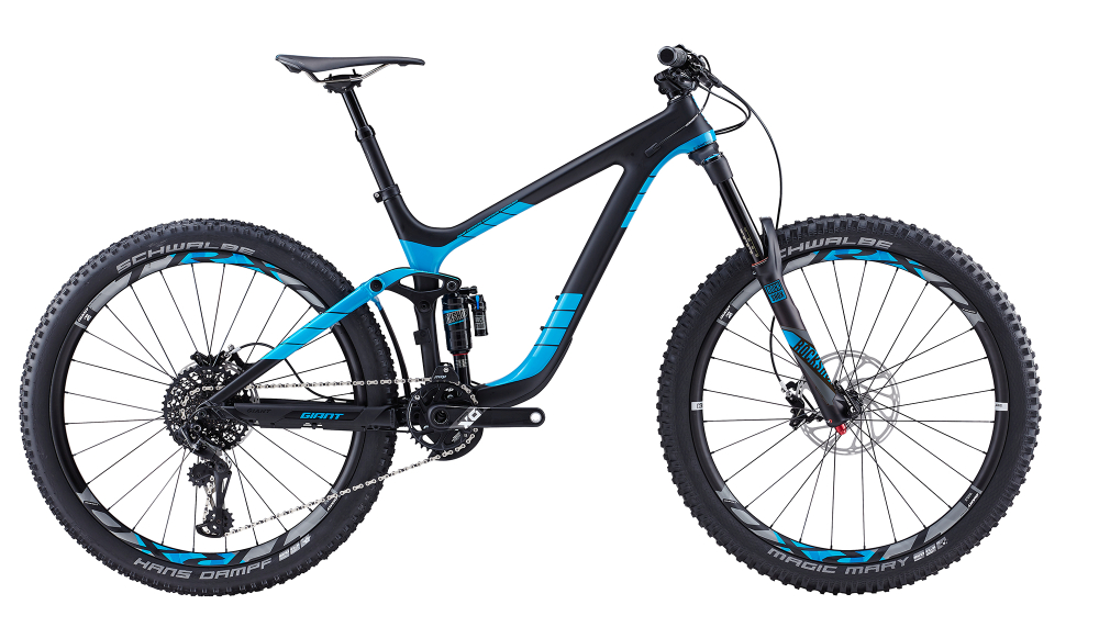 GIANT Reign Advanced 0 Comp/Blue S - Bergmann Bike & Outdoor