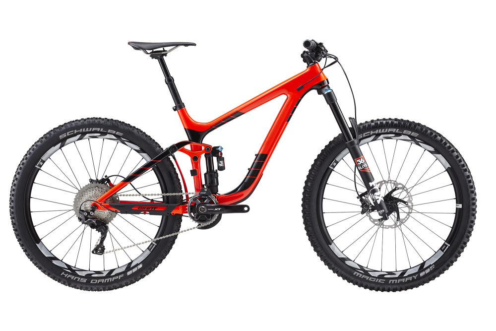 GIANT Reign Advanced 1 Red/Black S - Bergmann Bike & Outdoor