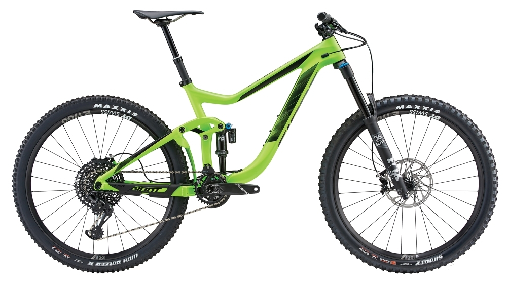 GIANT Reign Advanced 1 S Neon Green S - Fahrradhaus Haske