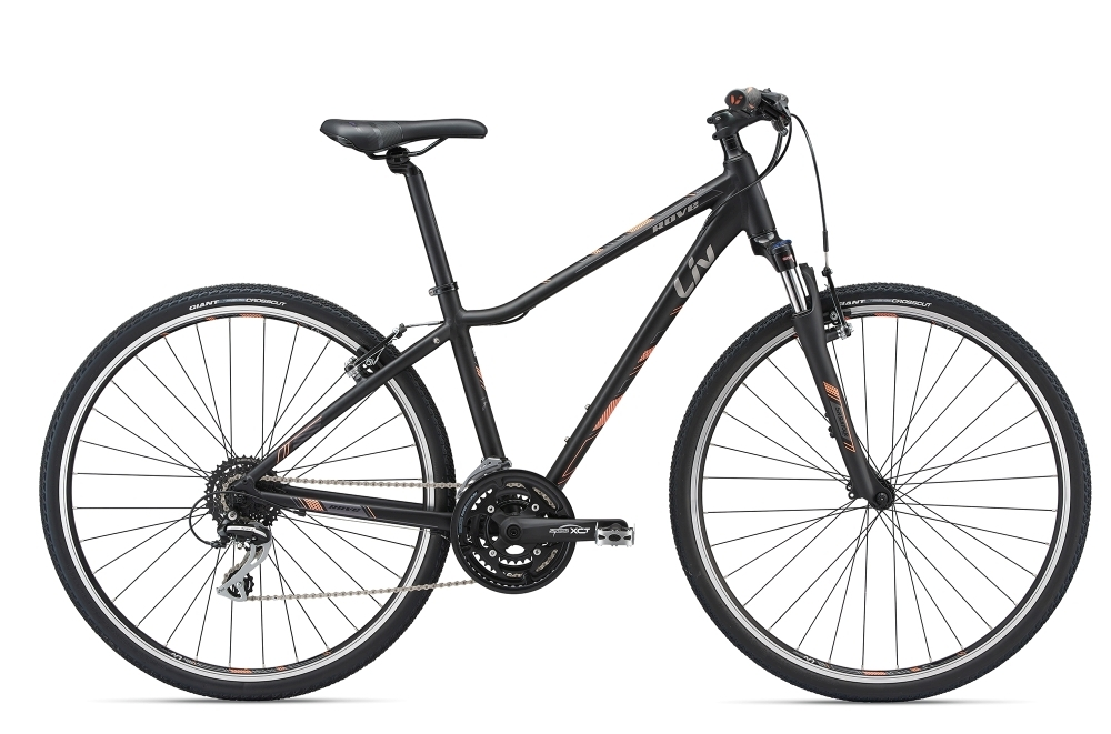 LIV Rove 3 DD S Black S - Bergmann Bike & Outdoor
