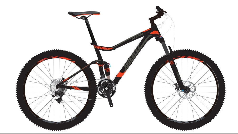 GIANT Stance 1 GE S Black S - Fahrradhaus Haske
