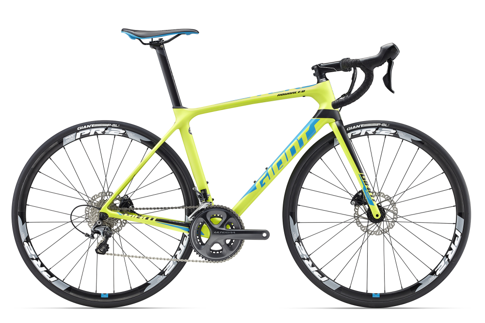 GIANT TCR Advanced 1 Disc Green S - Bergmann Bike & Outdoor