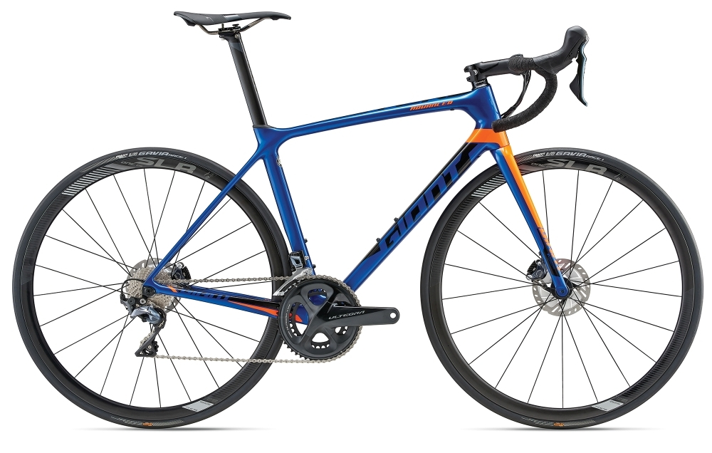 GIANT TCR Advanced Pro 1 Disc L Electric Blue L - Fahrradhaus Haske