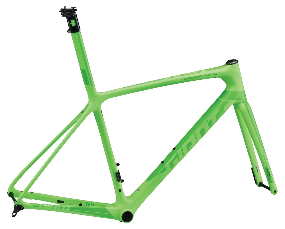 GIANT TCR Advanced SL Disc-FF L Neon Green L - Fahrradhaus Haske