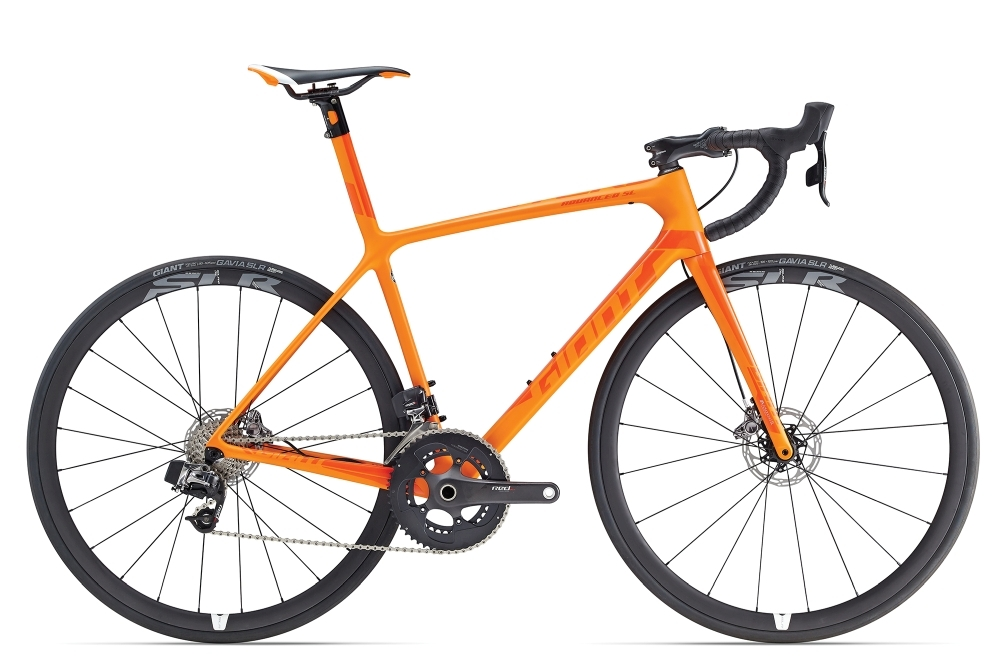 GIANT TCR Advanced SL Disc S Orange S - Bike Maniac