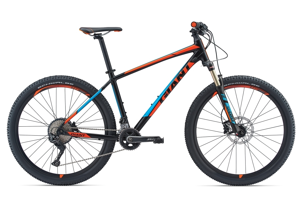 GIANT Talon 0 GE S Black/Orange S - Fahrradhaus Haske