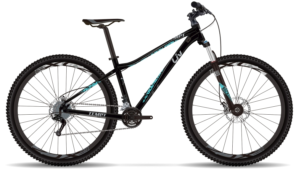 LIV Tempt RC GE L Black L - Bergmann Bike & Outdoor