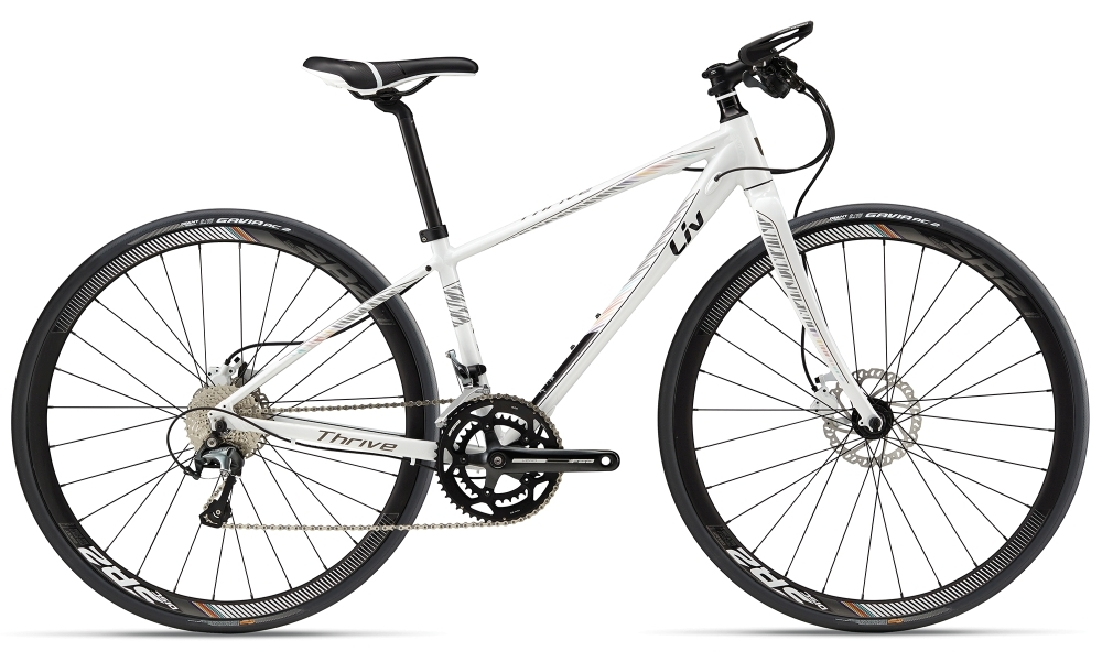 LIV Thrive 1 Disc S White S - Bike Maniac