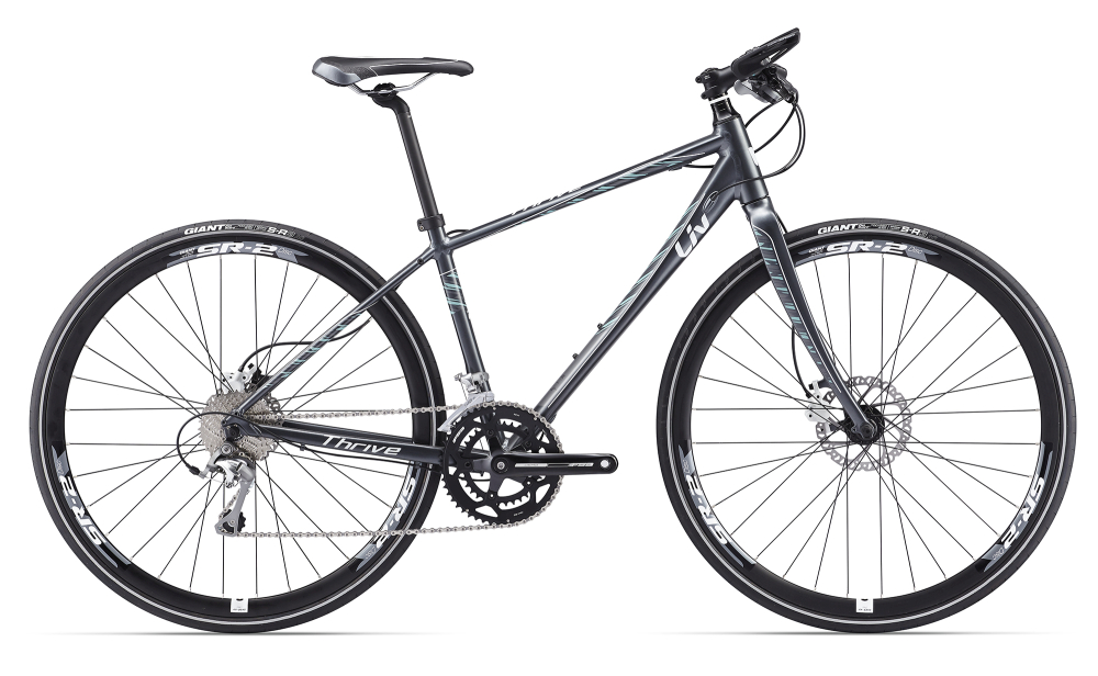 LIV Thrive 1 Disc Dark Silver S - Bergmann Bike & Outdoor