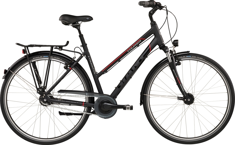 GIANT Tourer STA L Black/Red L - Fahrradhaus Haske