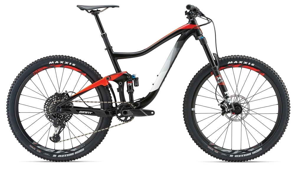 GIANT Trance 1 GE XL Black XL - Bergmann Bike & Outdoor