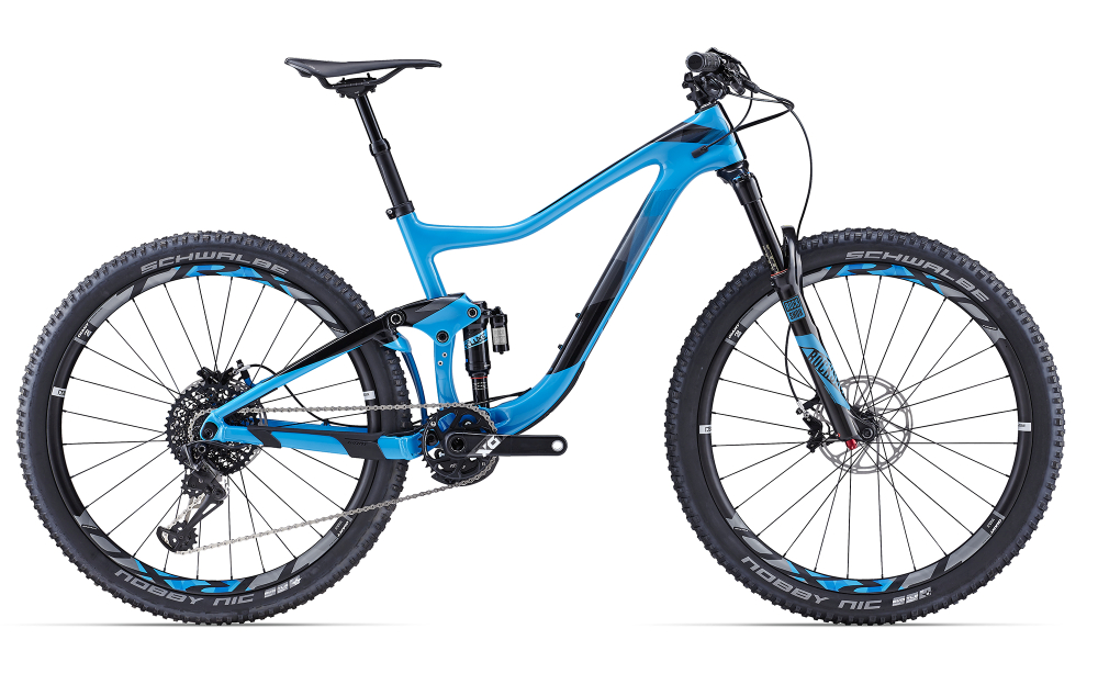 GIANT Trance Advanced 0 Blue S - Bergmann Bike & Outdoor