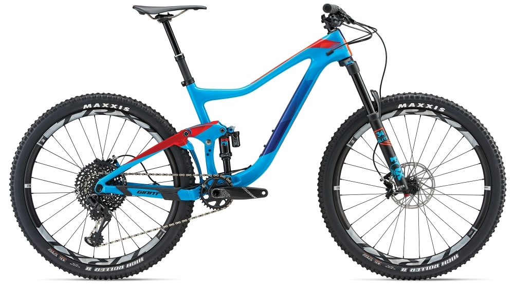 GIANT Trance Advanced 1 S Blue S - Bike Maniac