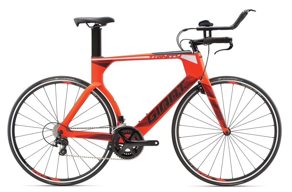 GIANT Trinity Advanced L Neon Red L - Fahrradhaus Haske