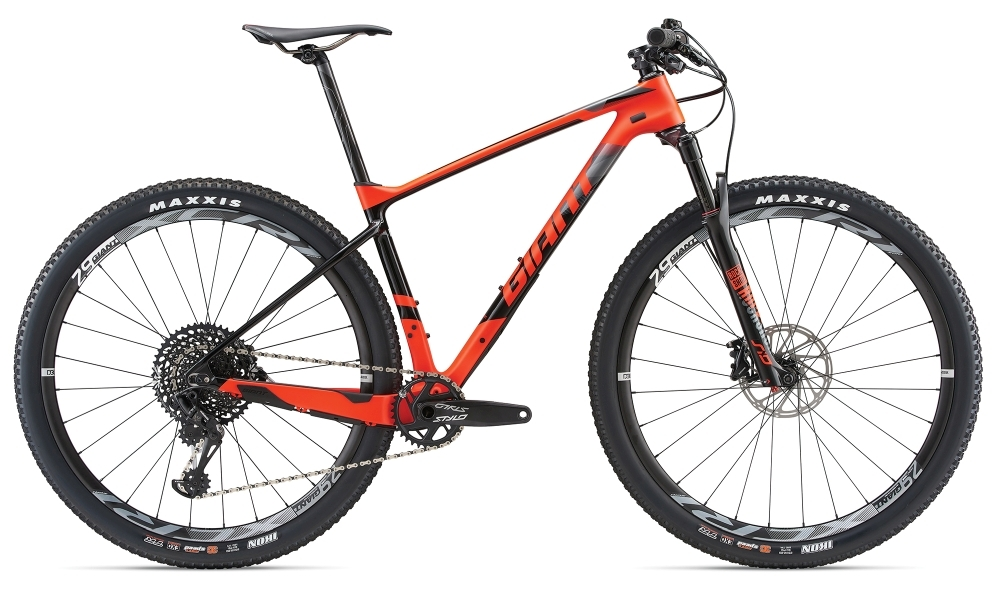 GIANT XTC Advanced 29er 1 M Neon Red M - Bergmann Bike & Outdoor