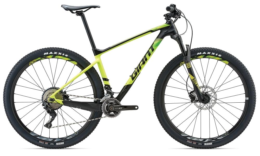 GIANT XTC Advanced 29er 2 GE S Carbon/Yellow S - Bike Maniac
