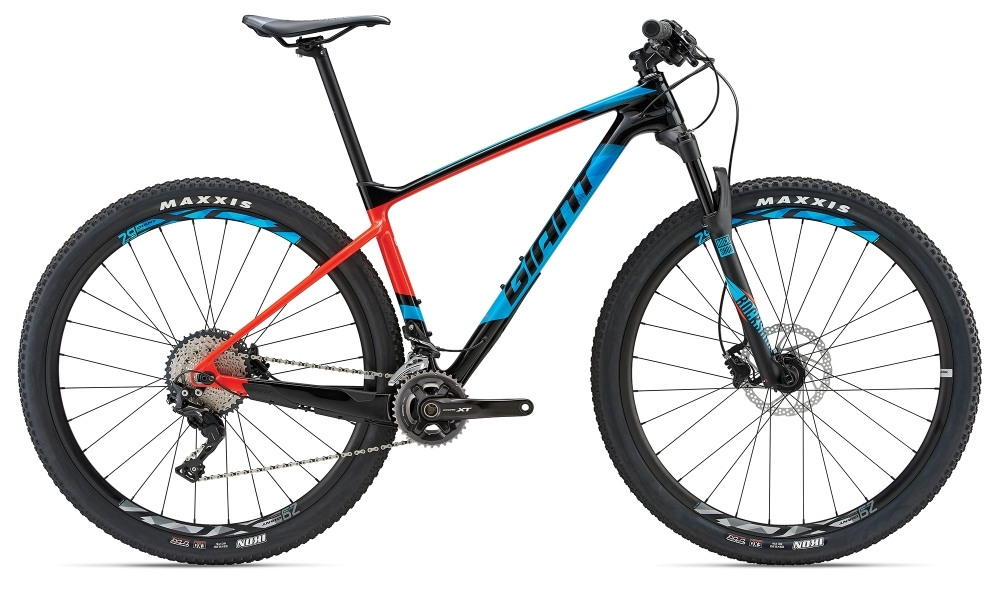 GIANT XTC Advanced 29er 2 GE L Carbon/Red L - Bergmann Bike & Outdoor